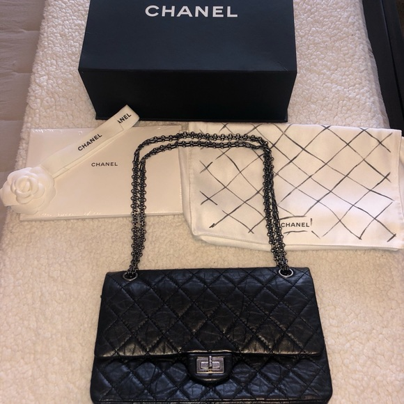 CHANEL Handbags - CHANEL Aged Calfskin Quilted 2.55 Reissue 227 Flap